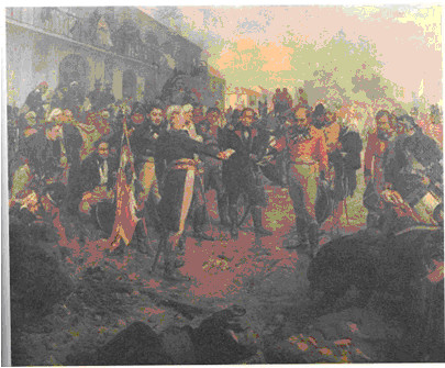 La Defensa - Musée du Cabildo Place de Mai Buenos Aires