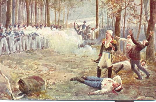 Exécution de Jacques de Liniers le 26 aout 1810